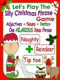 The Silly Christmas Phrase Game for Grades 2 and Up