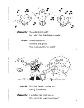 The Silly Wishes (Leveled Readers' Theater, Grade 2)
