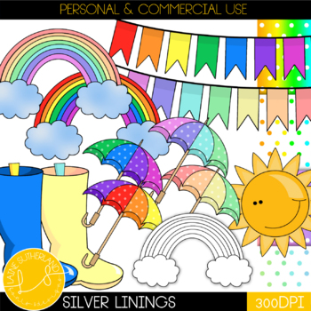 The Silver Linings Clip Art Collection *FREEBIE*