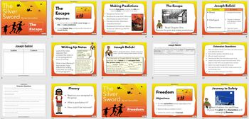 The Silver Sword Powerpoint and worksheets teaching unit