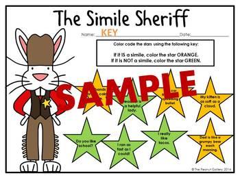 The Simile Sheriff