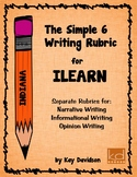 The Simple 6 Writing Rubric for ILEARN by Kay Davidson