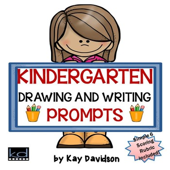 Drawing and Writing Prompts for Kindergarten