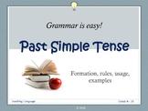 The Past Simple Tense Presentation