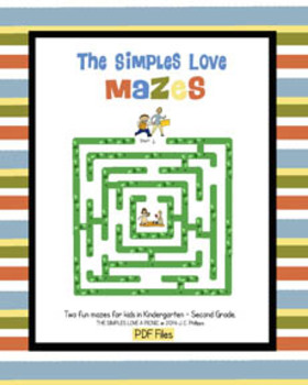 The Simples Love Mazes *FREE* Fun Pages