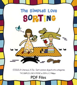 The Simples Love Sorting *FREE* Worksheets