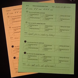 The Simplest Home/Parent Communication Log for Special Education