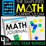 The Simplified Math Curriculum | 4th Grade | GROWING BUNDL