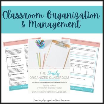 The Simply Organized Classroom eBook