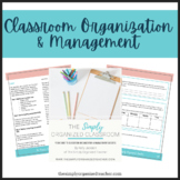 How to be an Organized Teacher: The Simply Organized Class