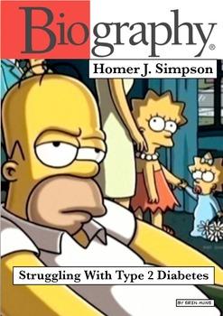 The Simpson's Diabetes Info Comic Book