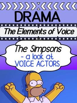 Drama - The Simpsons - Elements of Voice / Voice Actors
