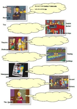 The Simpsons Go To England! (Perceptions & Stereotypes)