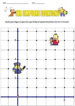 The Simpsons Linear Ecuation {PRINTABLE}