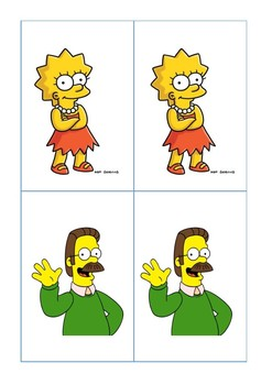 The Simpsons Partner Cards