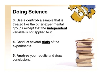 The Simpsons! Scientific Inquiry PowerPoint