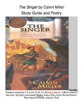 The Singer by Calvin Miller Study Guide and Poetry