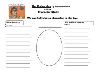 The Singing Man Character Study