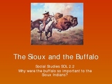 The Sioux and the Buffalo powerpoint
