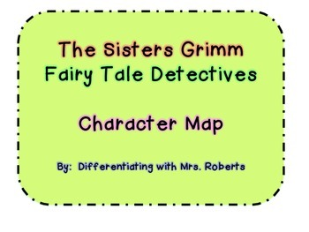 The Sisters Grimm-The Fairy-Tale Detectives Character Map
