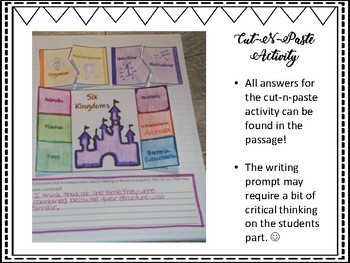 The Six Kingdoms (Classification) Science & Literacy Activities