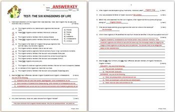 34 Domains And Kingdoms Worksheet Answers - Free Worksheet ...