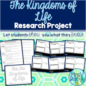 The Six Kingdoms of Life Research Book Project