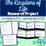 The Six Kingdoms of Life Research Book Project-Distance Learning