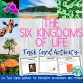 The Six Kingdoms of Life Task Cards Station Activity