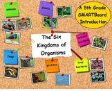 The Six Kingdoms of Organisms - A Fifth Grade SMARTBoard Introduction