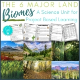 Project Based Learning: The Six Major Land Biomes