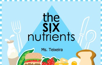 the six primary nutrients nutrition powerpoint by elena teixeira gaeta