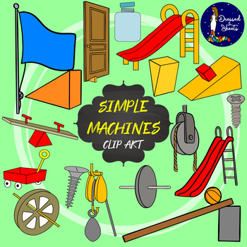 The Six Simple Machines Clip Art