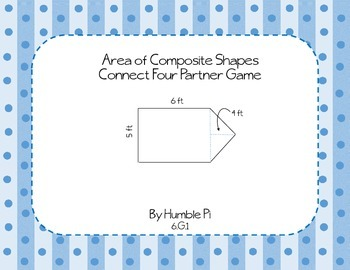 The Sixth Grade Geometry Partner Game Bundle!- 6.G.1, 6.G.2, 6.G.3, 6.G.4