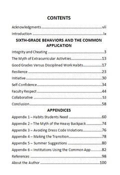 The Sixth Grade Guide - 6th grade orientation - moving up - middle school intro