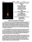 The Sixth Sense Film (1999) Study Guide Movie Packet