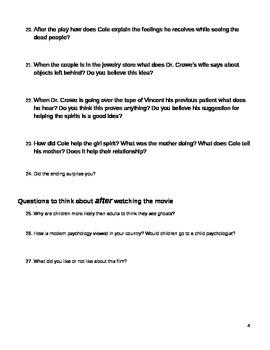 The Sixth Sense Study Guide