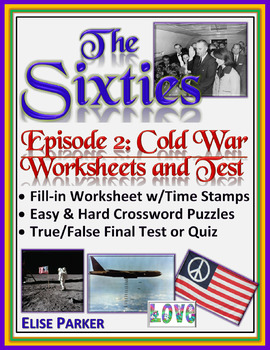 The Sixties Episode 2 Worksheets, Puzzles, and Test