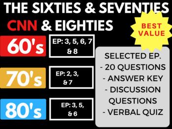 The Sixties + Seventies + Eighties  CNN Bundle Selected Episodes