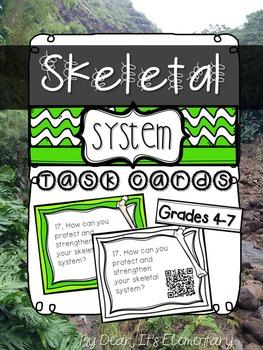 The Skeletal System {QR TASK CARDS}