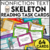 The Skeleton Nonfiction Text Features and Task Cards