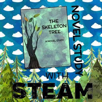 The Skeleton Tree Novel Study with STEAM BUNDLE