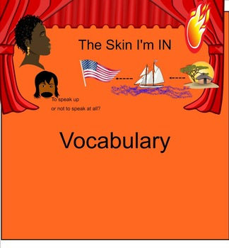 The Skin I'm In Vocabulary (Smart Notebook)