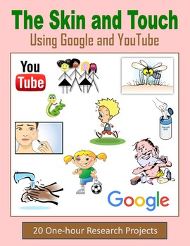 The Skin and Touch - One-hour Internet Research Projects (Google and YouTube)
