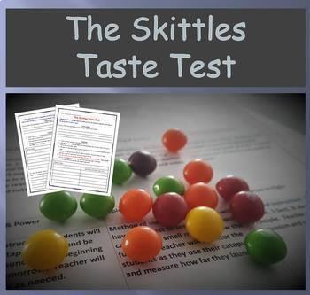Fun Experiment - The Skittles Taste Test