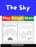 The Sky Play Dough Mats | Playdough Mats | Play Doh Mats |
