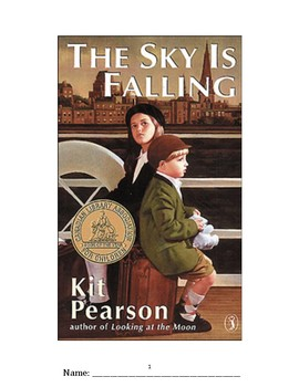 The Sky is Falling by Kit Pearson- No Prep Novel Study