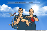 """The Skydiving"" Classifier Story Poster"