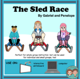 Interactive Book for Speech Therapy:  The Sled Race