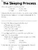 The Sleeping Princess (Lit) Text & Answer Set - FSA/PARCC-Style Assessment